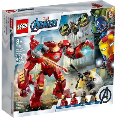 Iron Man Hulkbuster Contro l'Agente A.I.M.