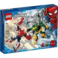 Battaglia con Mech: Spider Man e Dottor Octopus