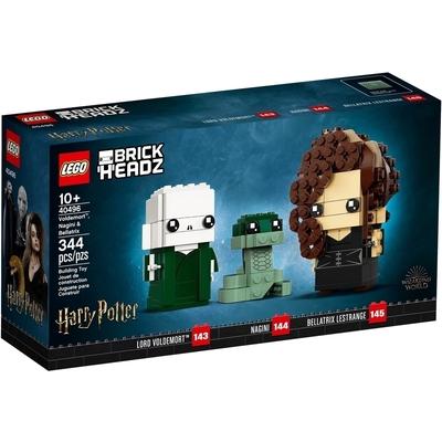 Voldemort, Nagini e Bellatrix
