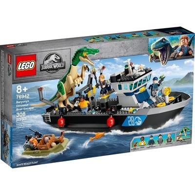 Fuga Sulla Barca DelDinosauroBaryonyx