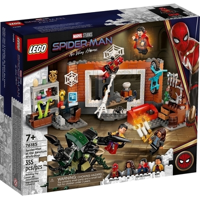 Spider Man At The Sanctum Workshop