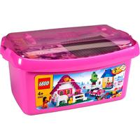 Large Pink Brick Box