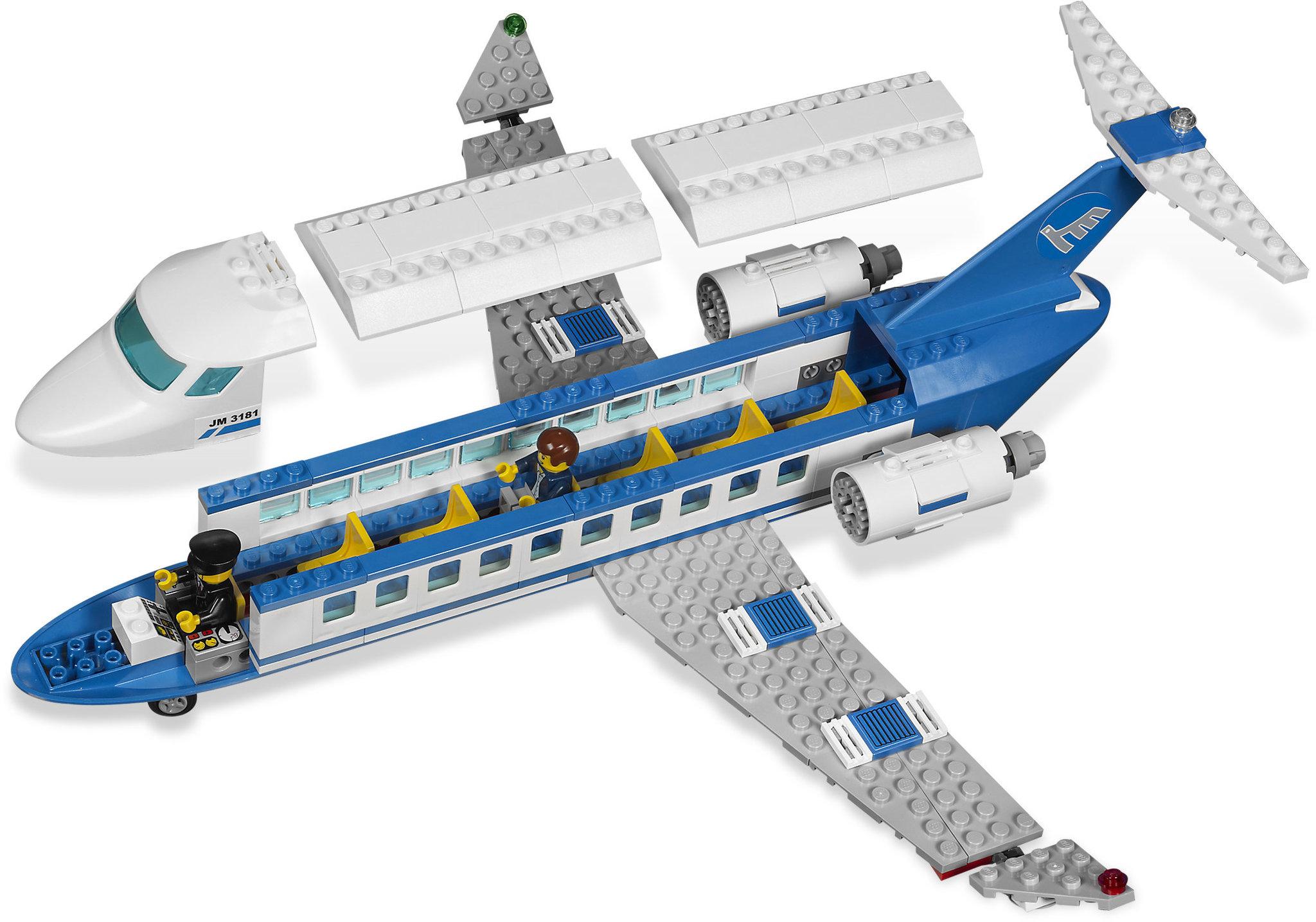 lego city 3181 passenger plane best price