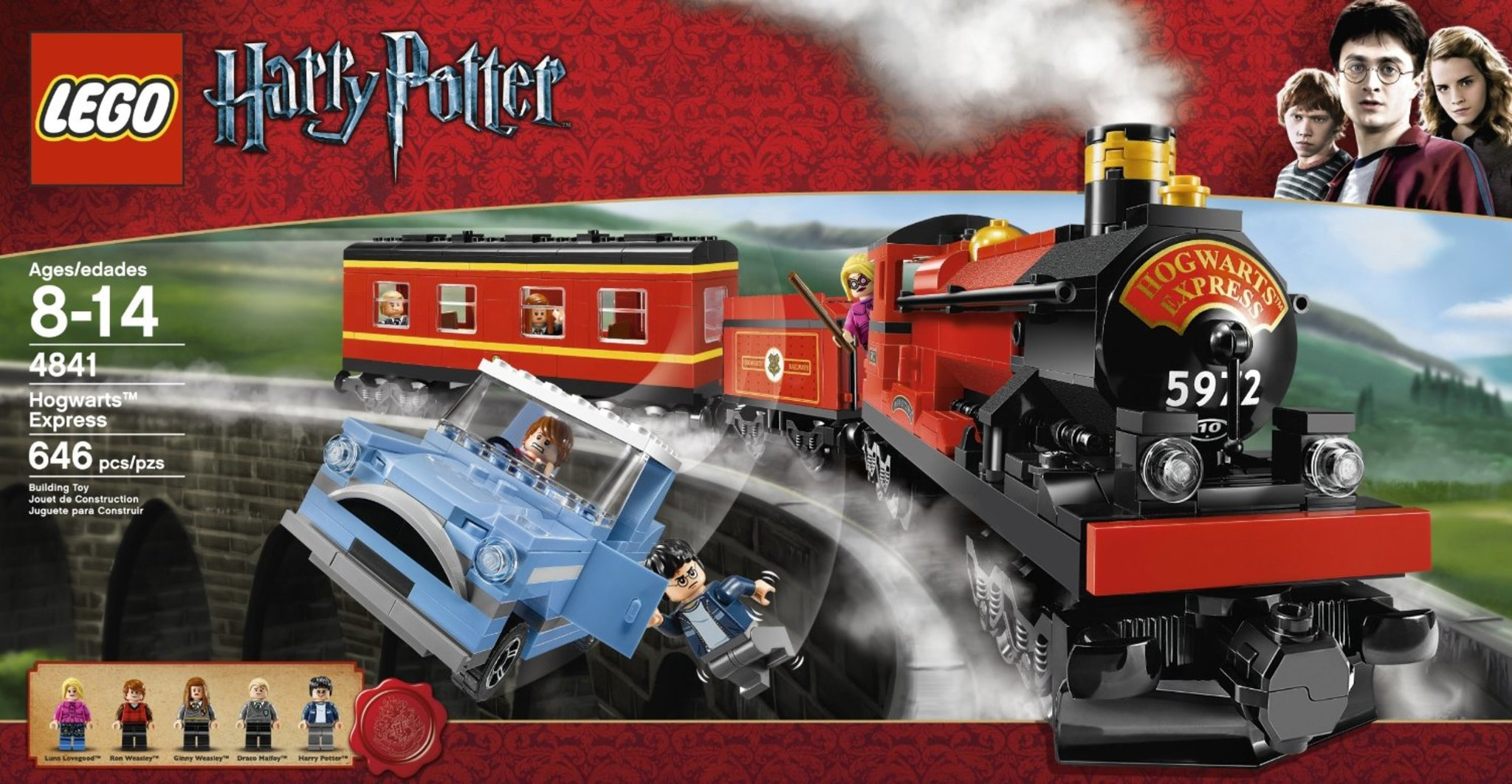 Lego Harry Potter 4841 Hogwarts Express Mattonito