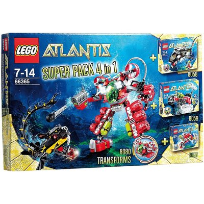 Atlantis Super Pack 4 in 1