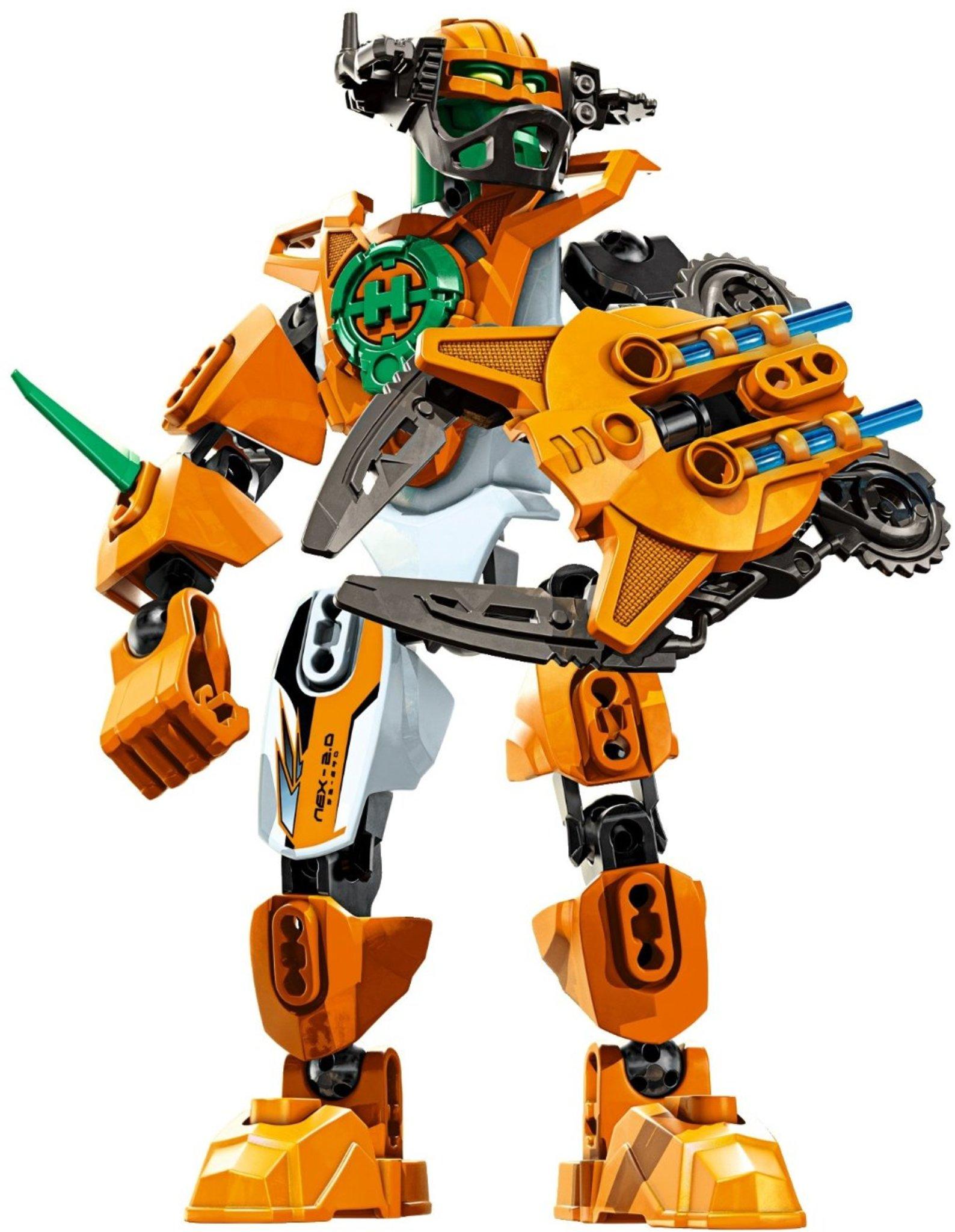 Lego Hero Factory 2068 Nex 20 Mattonito