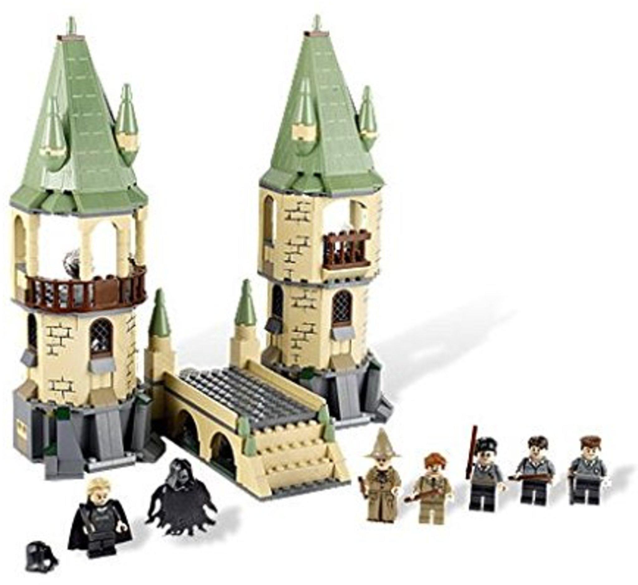 lego harry potter 4867  hogwarts  mattonito
