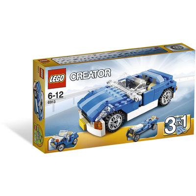 Auto Sportiva Blu