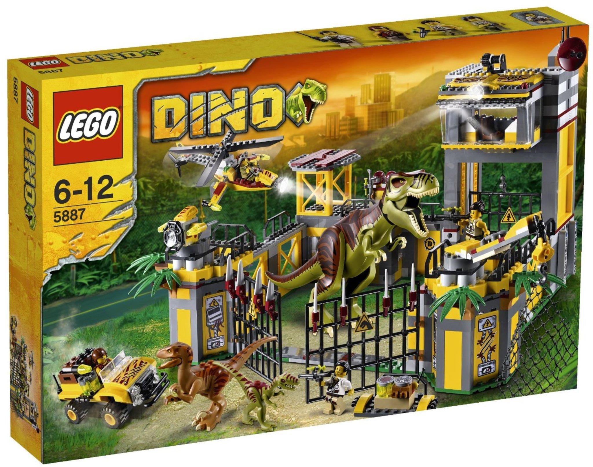 Lego Dino 5887 Dino Defense Hq Mattonito