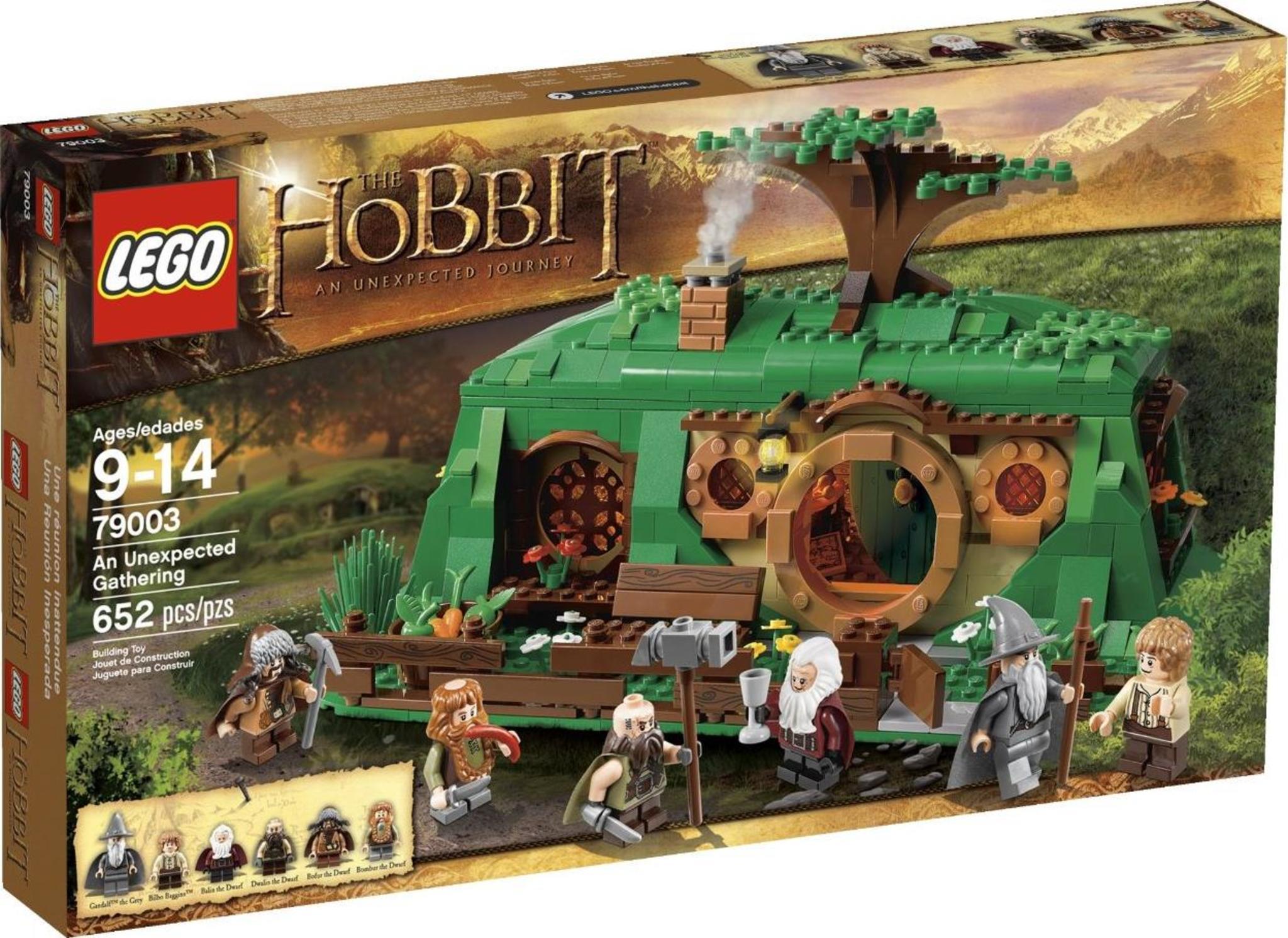 Lego The Hobbit 79003 An Unexpected Gathering Mattonito