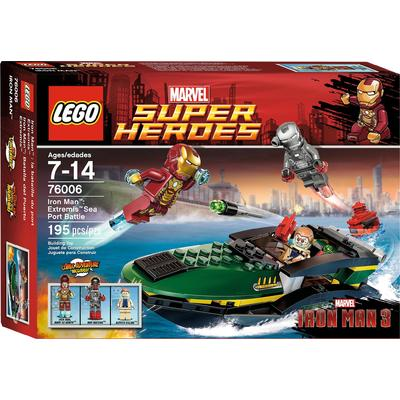 Iron Man: Extremis Sea Port Battle