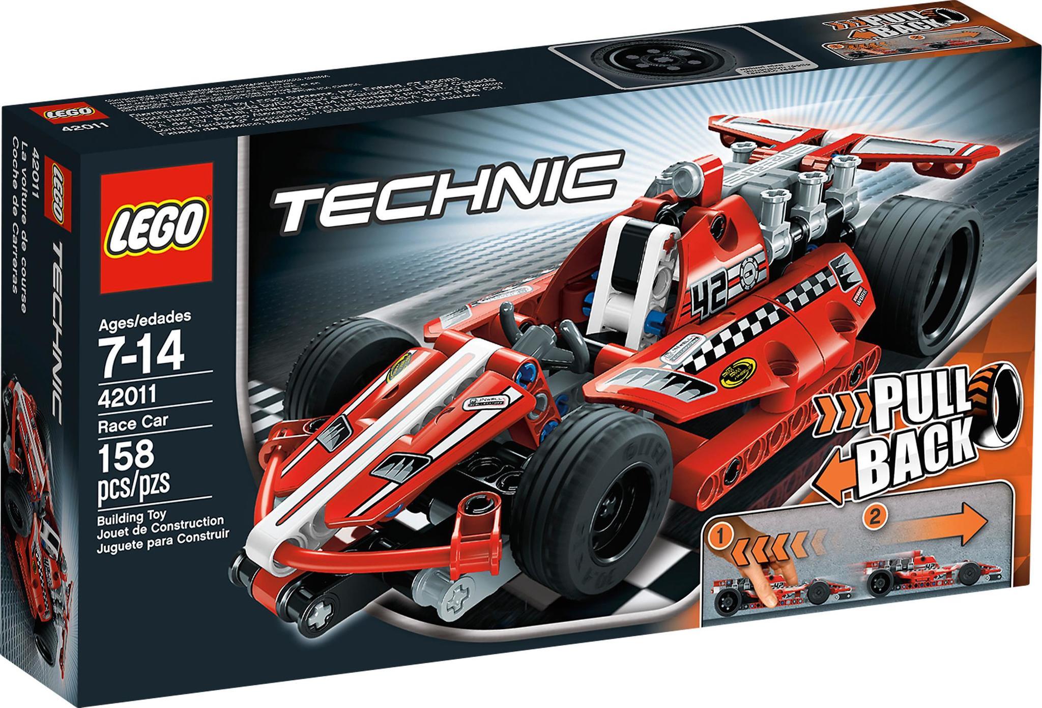 Lego Technic 42011 Race Car Mattonito