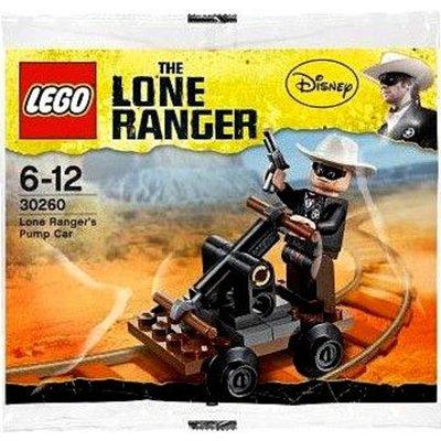 Carrello a Pompa di Lone Ranger