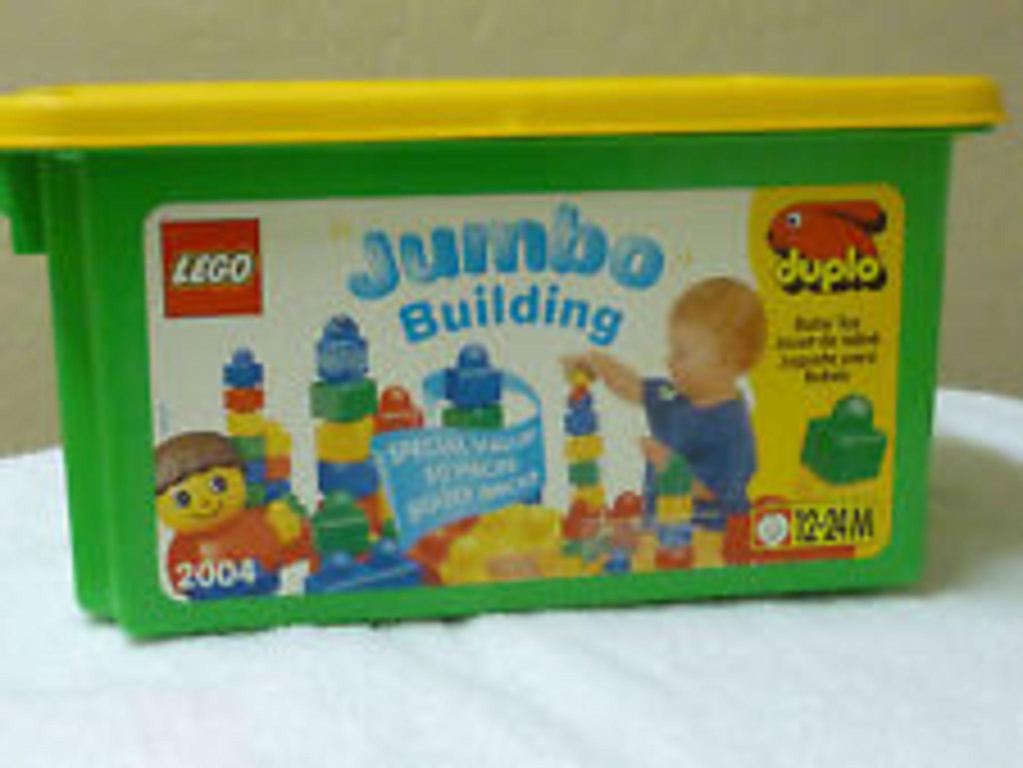 LEGO Duplo 2004 - Jumbo Building Tub
