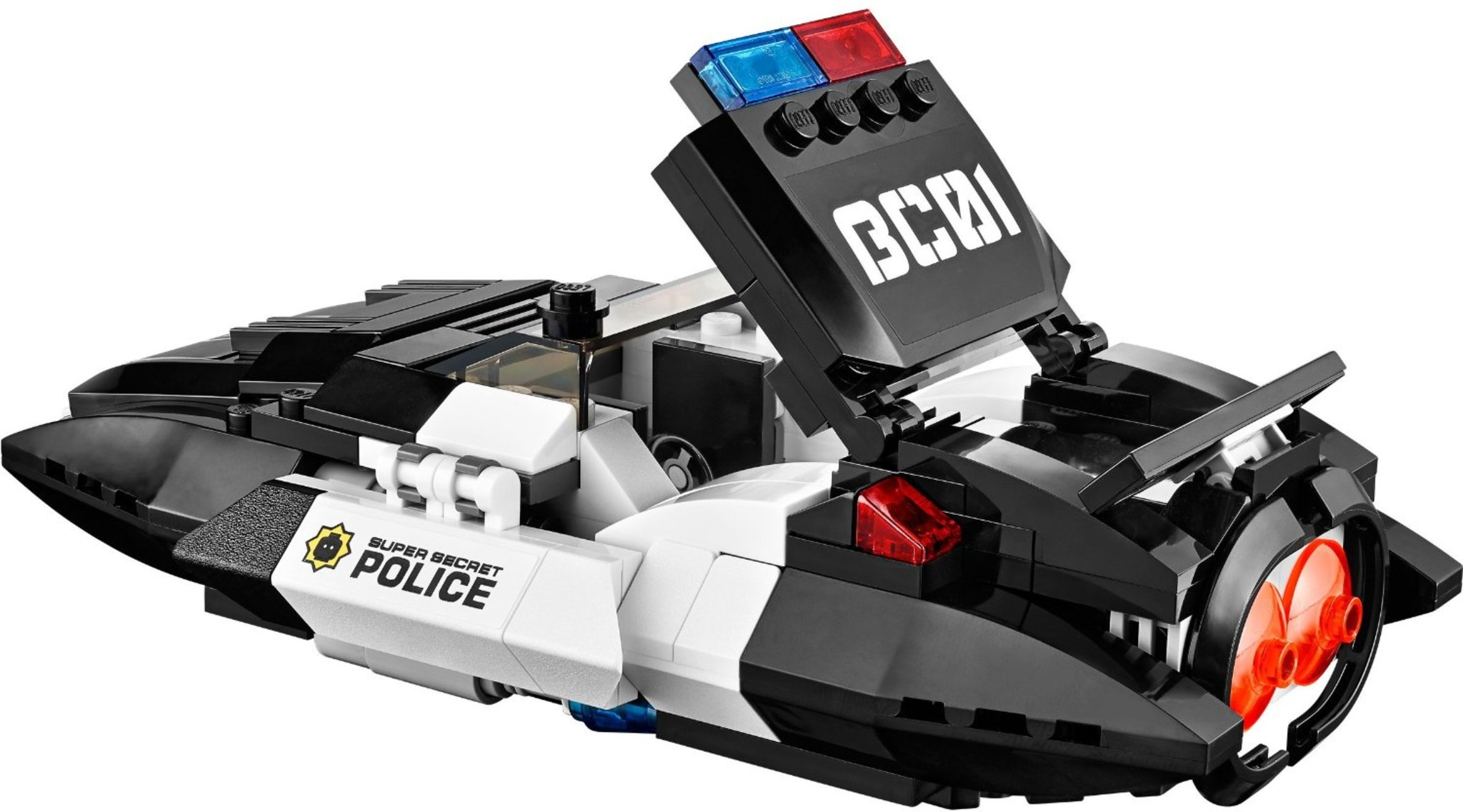 Lego Movie 70802 Bad Cop S Pursuit Mattonito
