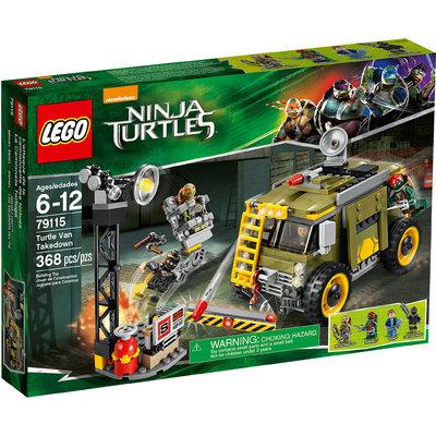 Turtle Van Takedown