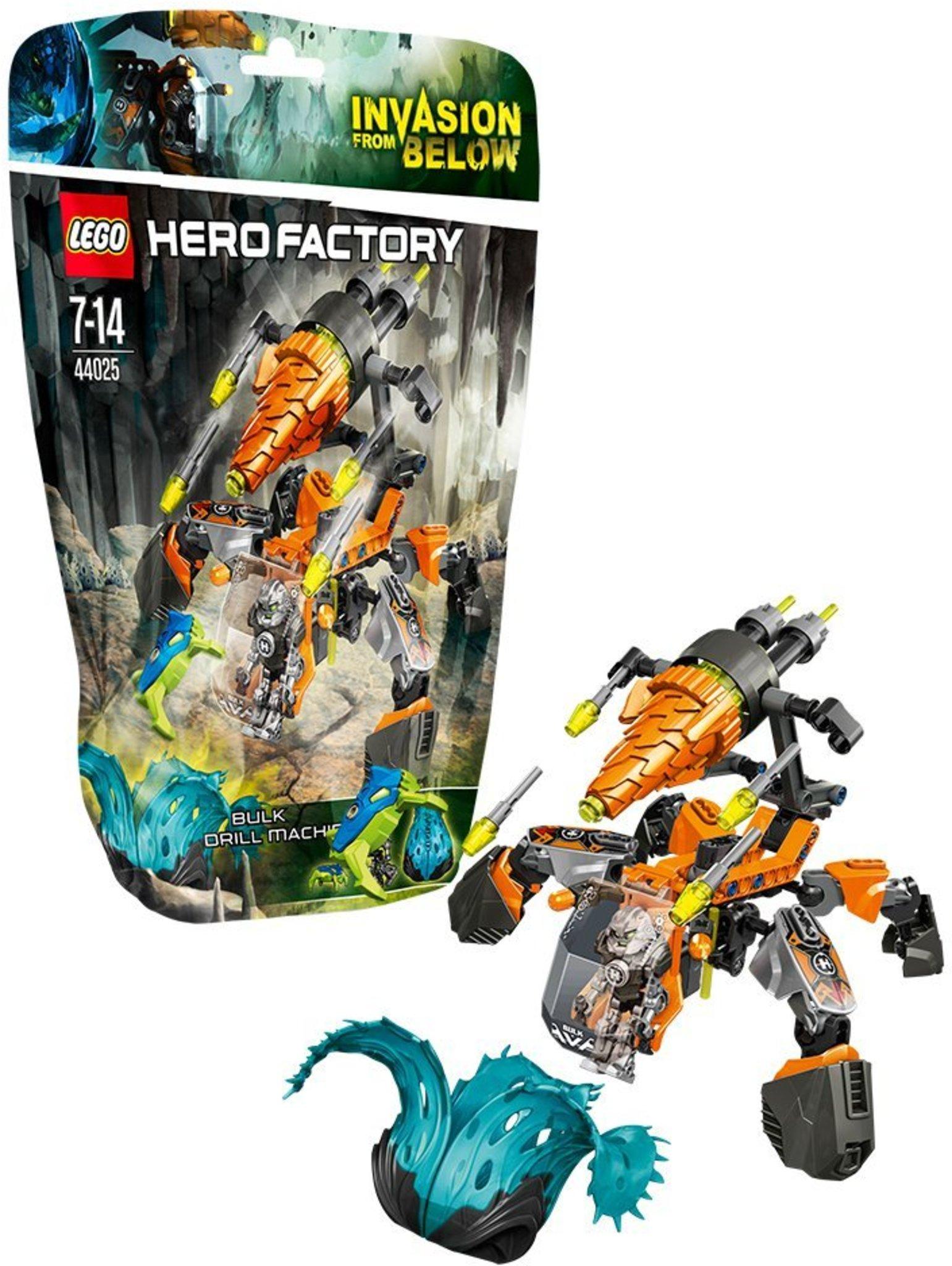 Lego Hero Factory 44025 Bulk Drill Machine Mattonito