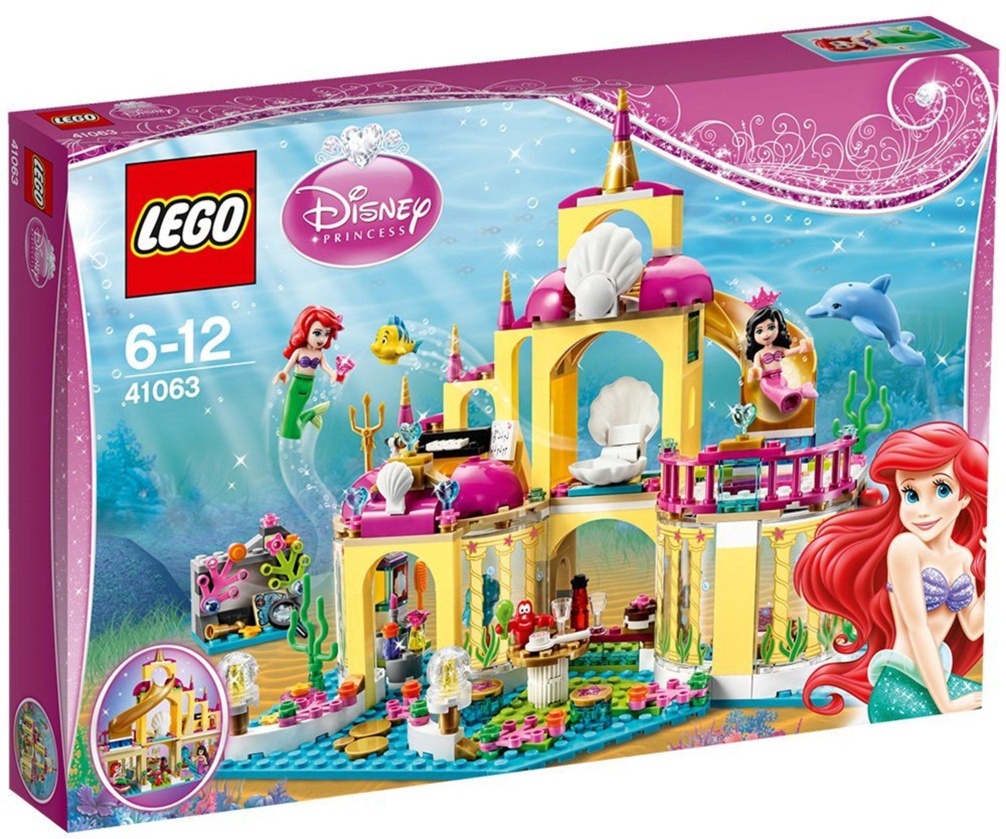 Lego disney 41063 il palazzo sottomarino di ariel for Prezzi caldaie ariel