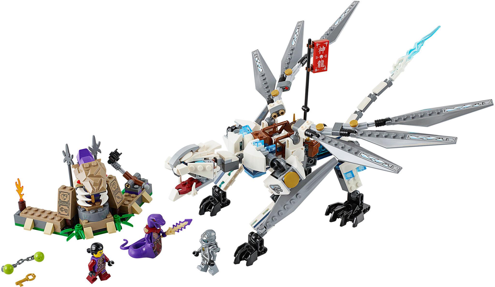 38db6082ac9b0 LEGO Ninjago 70748 - Titanium Dragon   Mattonito