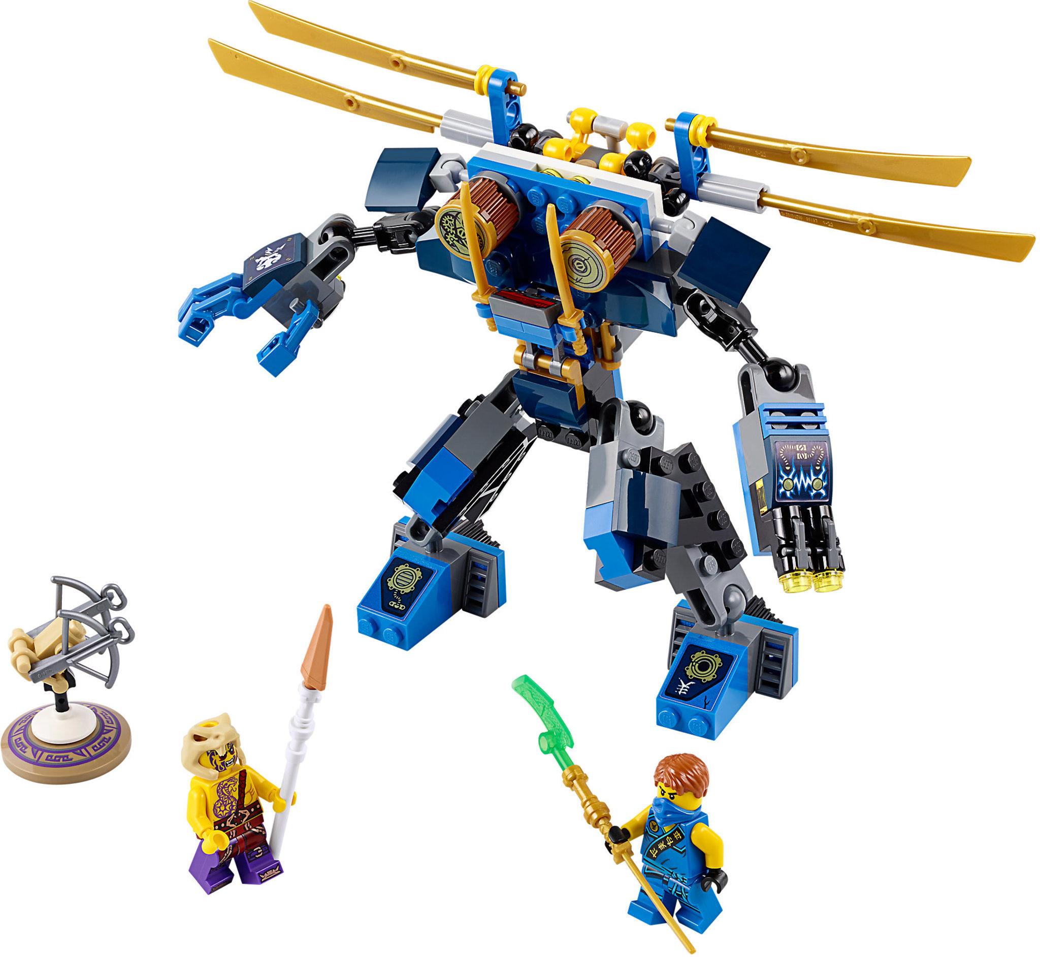 LEGO Ninjago 70754 - Elettro-robot   Mattonito