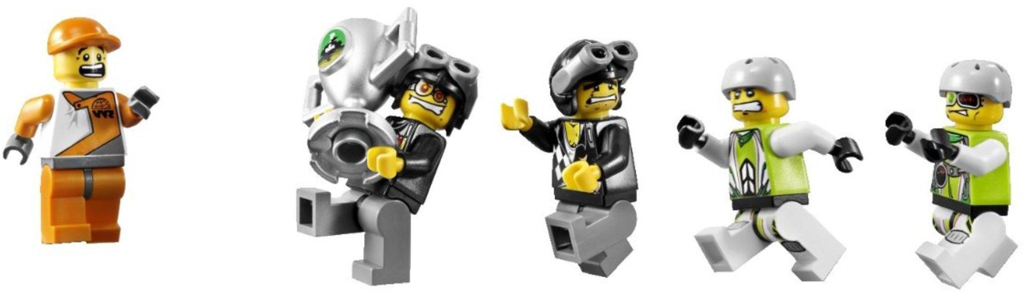 World Dei 8899 La Lego CoccodrilliMattonito Racers Palude rBoCWdxe