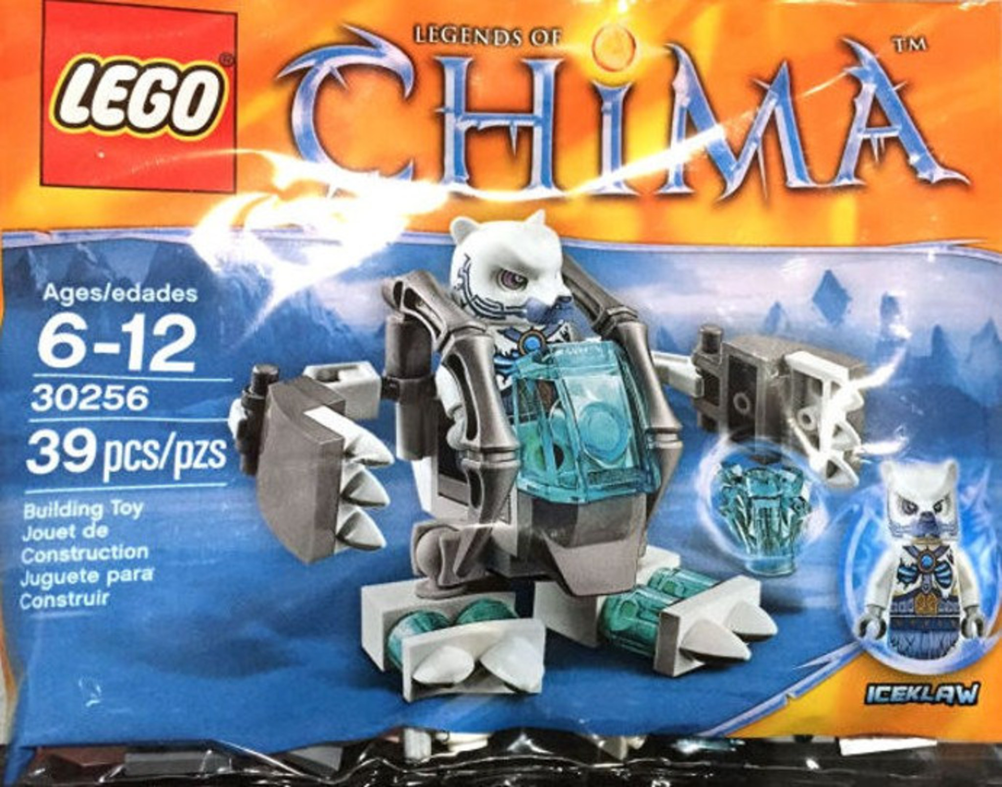 Lego Dh29ie Bear 30256 Ice Mechmattonito Chima XkuTZiPwO
