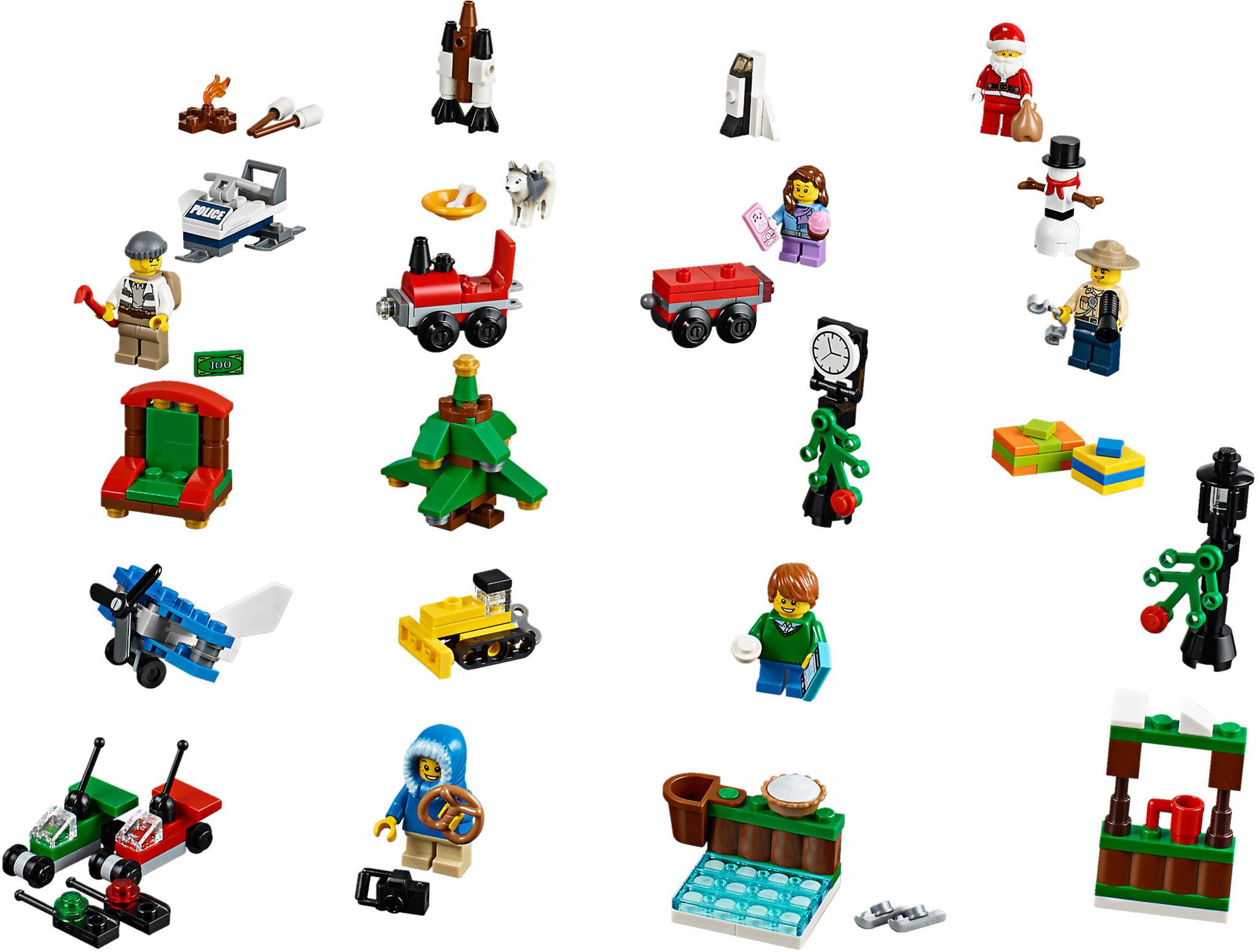 LEGO City 60099 - Calendario dell'Avvento | Mattonito