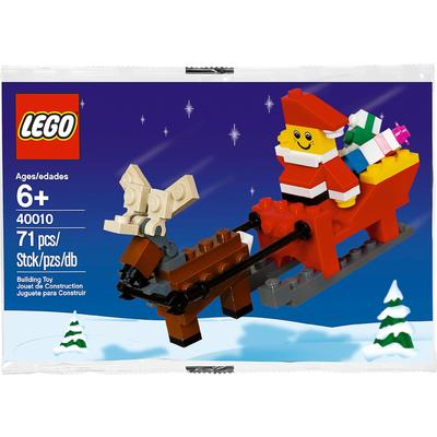 Father Christmas with Sledge Building Set