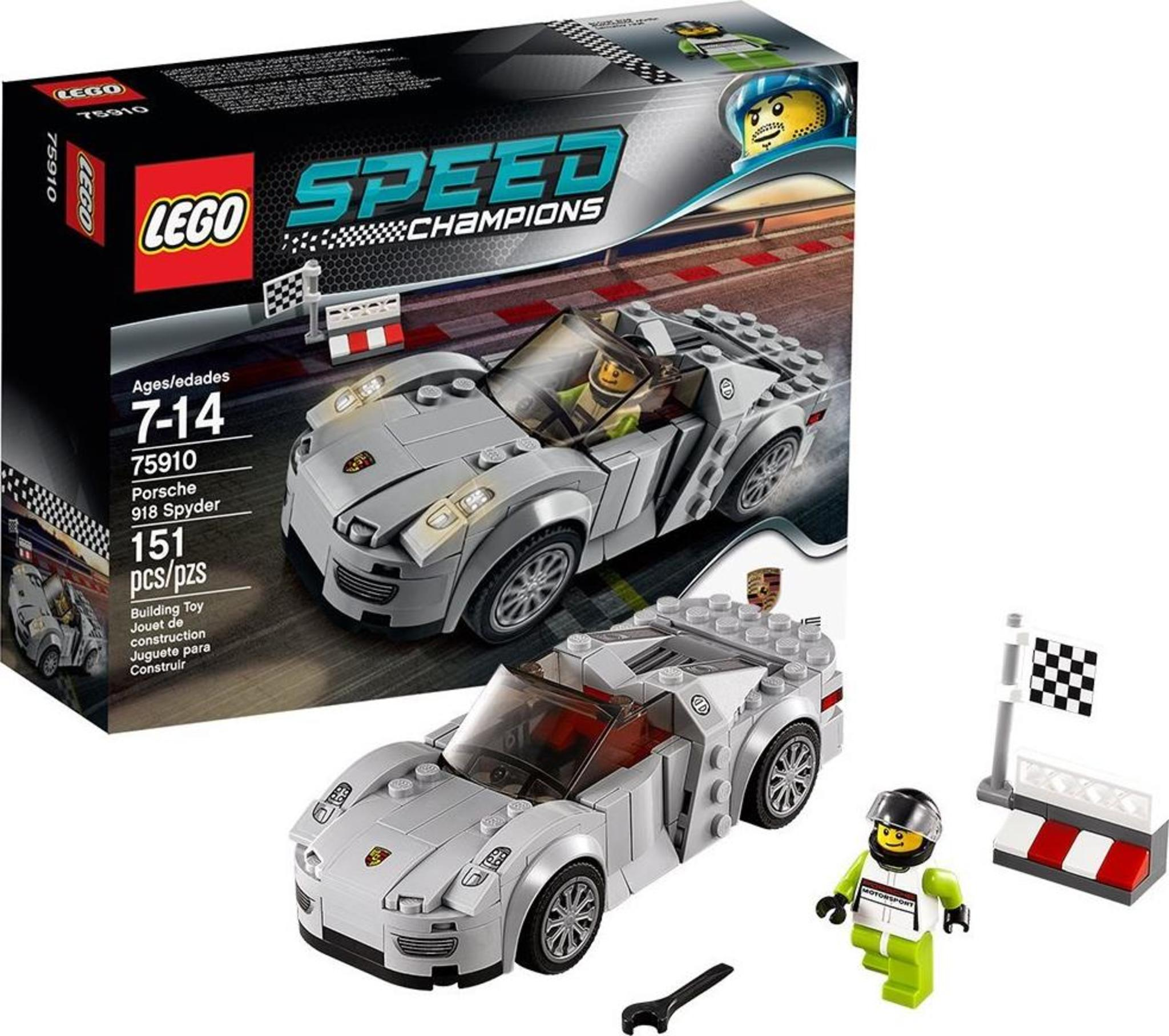 look good shoes sale look for store LEGO Speed Champions 75910 - Porsche 918 Spyder