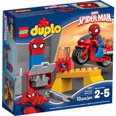 Spider-Man Web-Bike Workshop