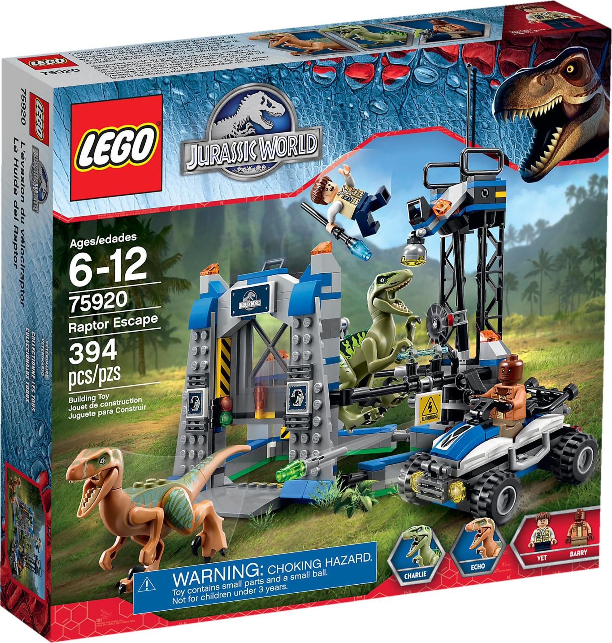 lego jurassic world the indominus escape part 6