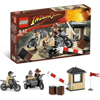 Indiana Jones Motorcycle Chase