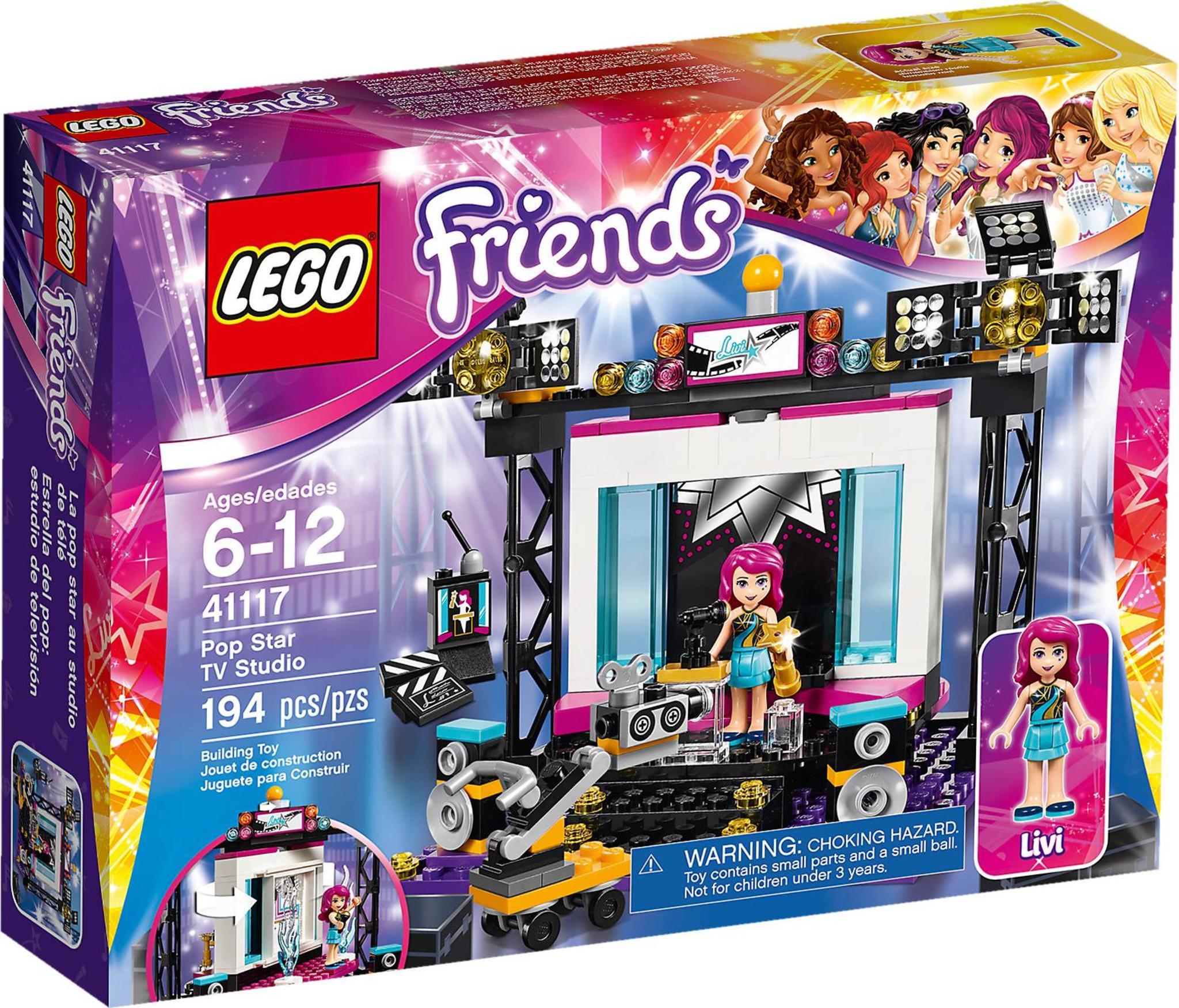 Lego Friends 41117 Lo Studio Tv Della Pop Star Mattonito