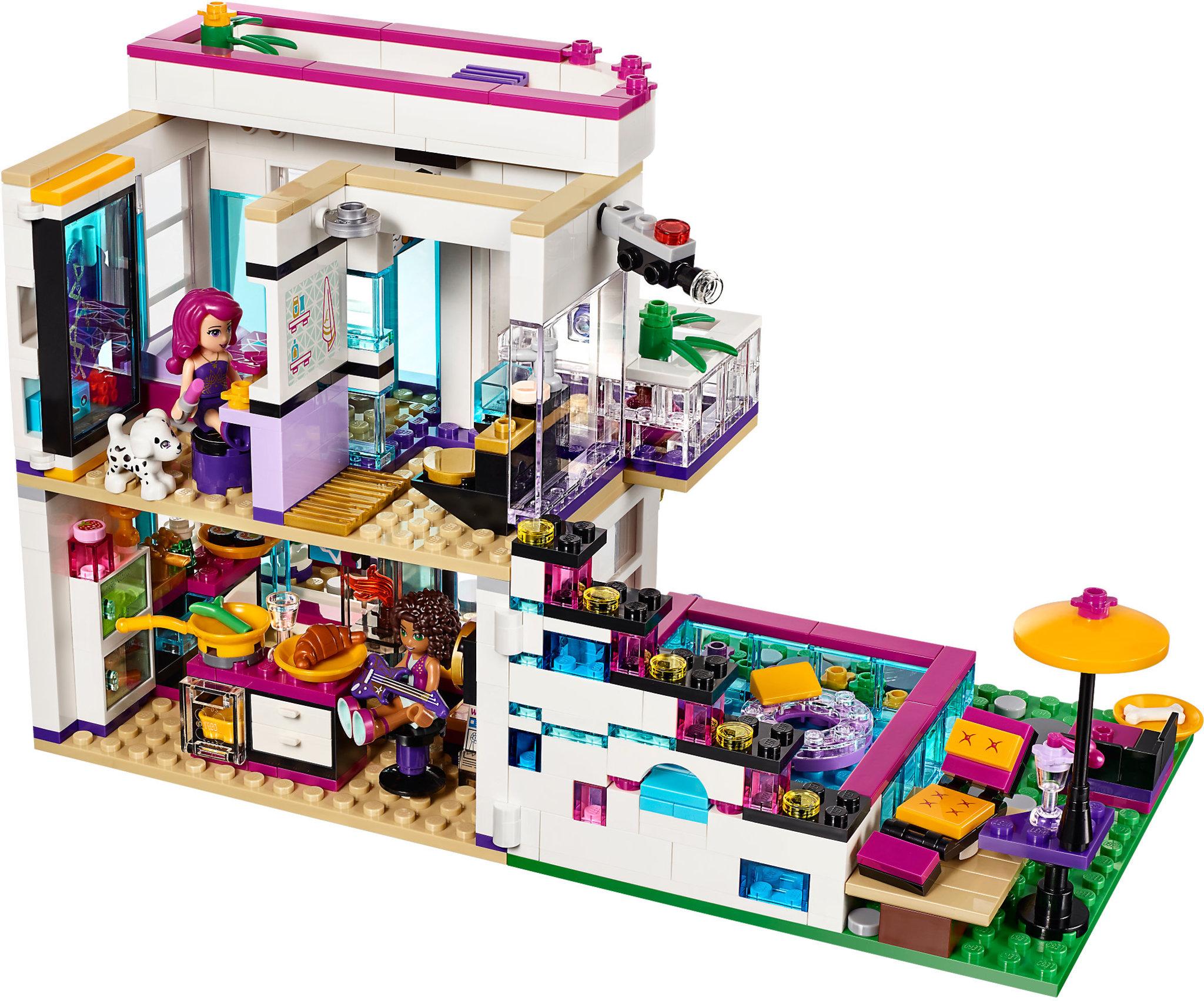 LEGO Friends 41135 - Livi's Pop Star House | Mattonito