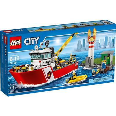 Motobarca antincendio