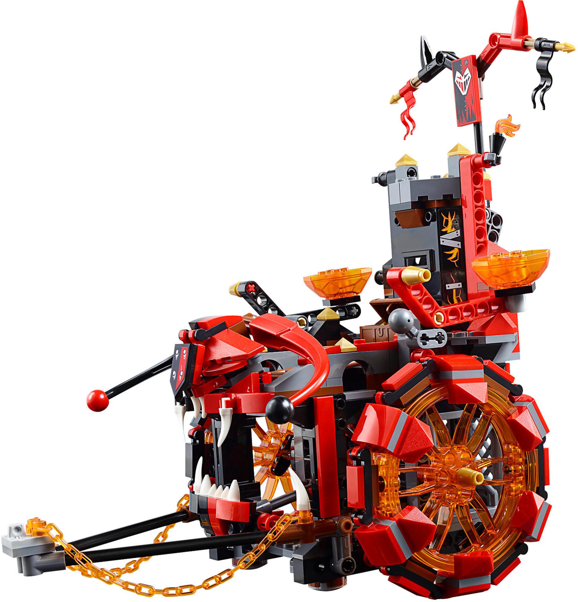 lego nexo knights 70316  jestro's evil mobile  mattonito