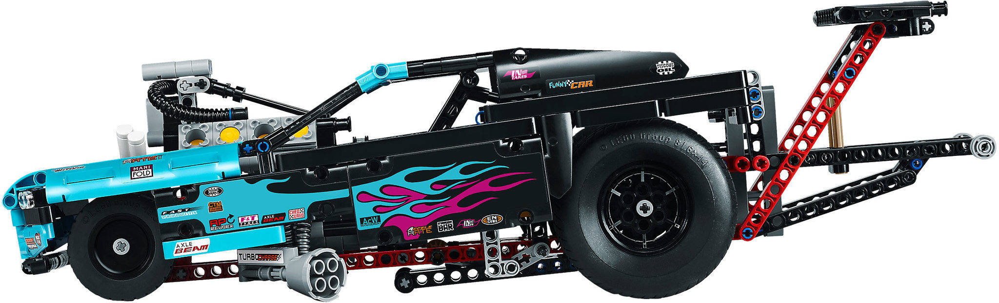 LEGO 42050 LEGO TECHNIC SUPER DRAGSTER