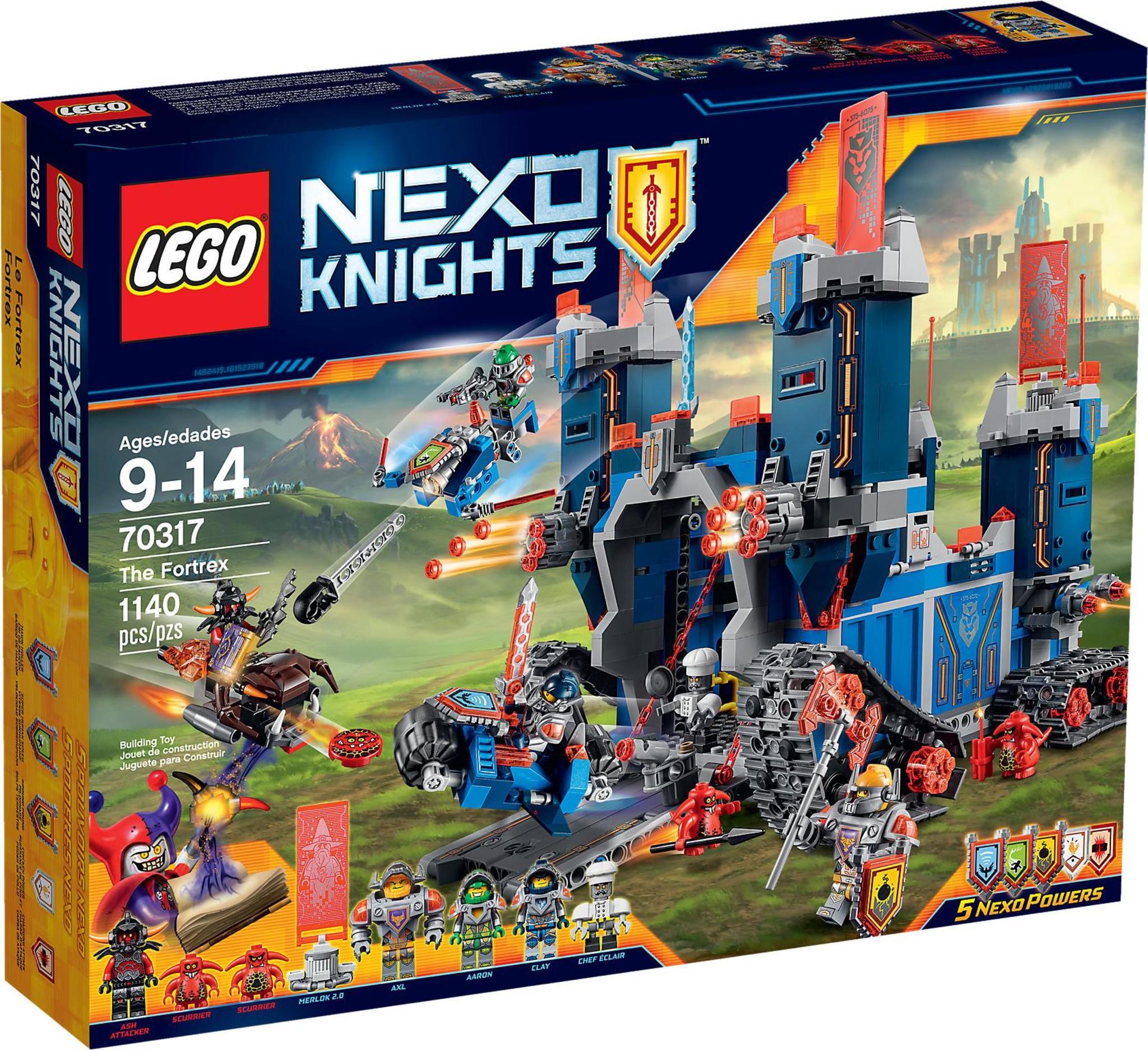 Knights Fortrex The Lego 70317 Nexo oQrdWxeCB