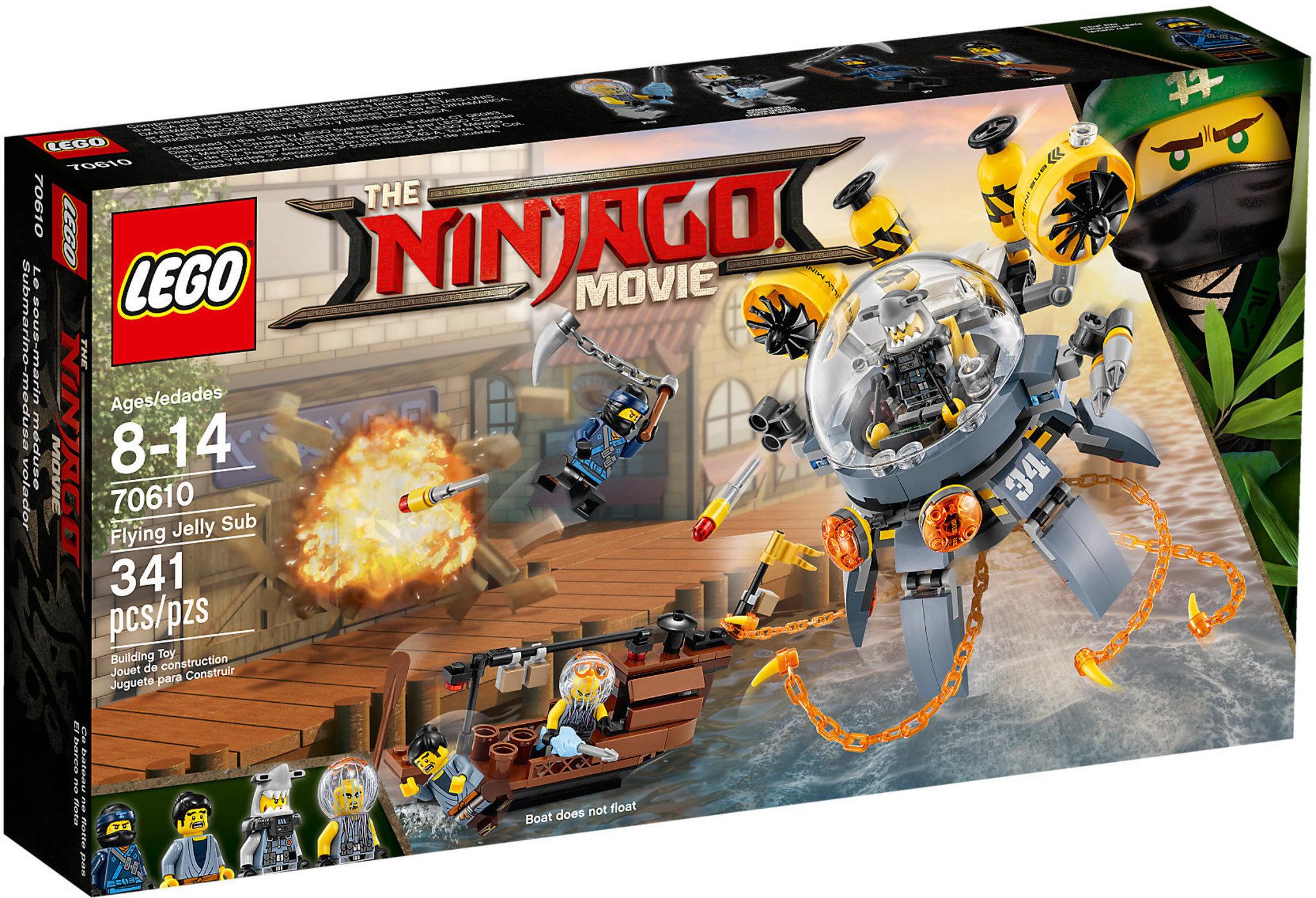 70610 Turbo Qualle LEGO NINJAGO