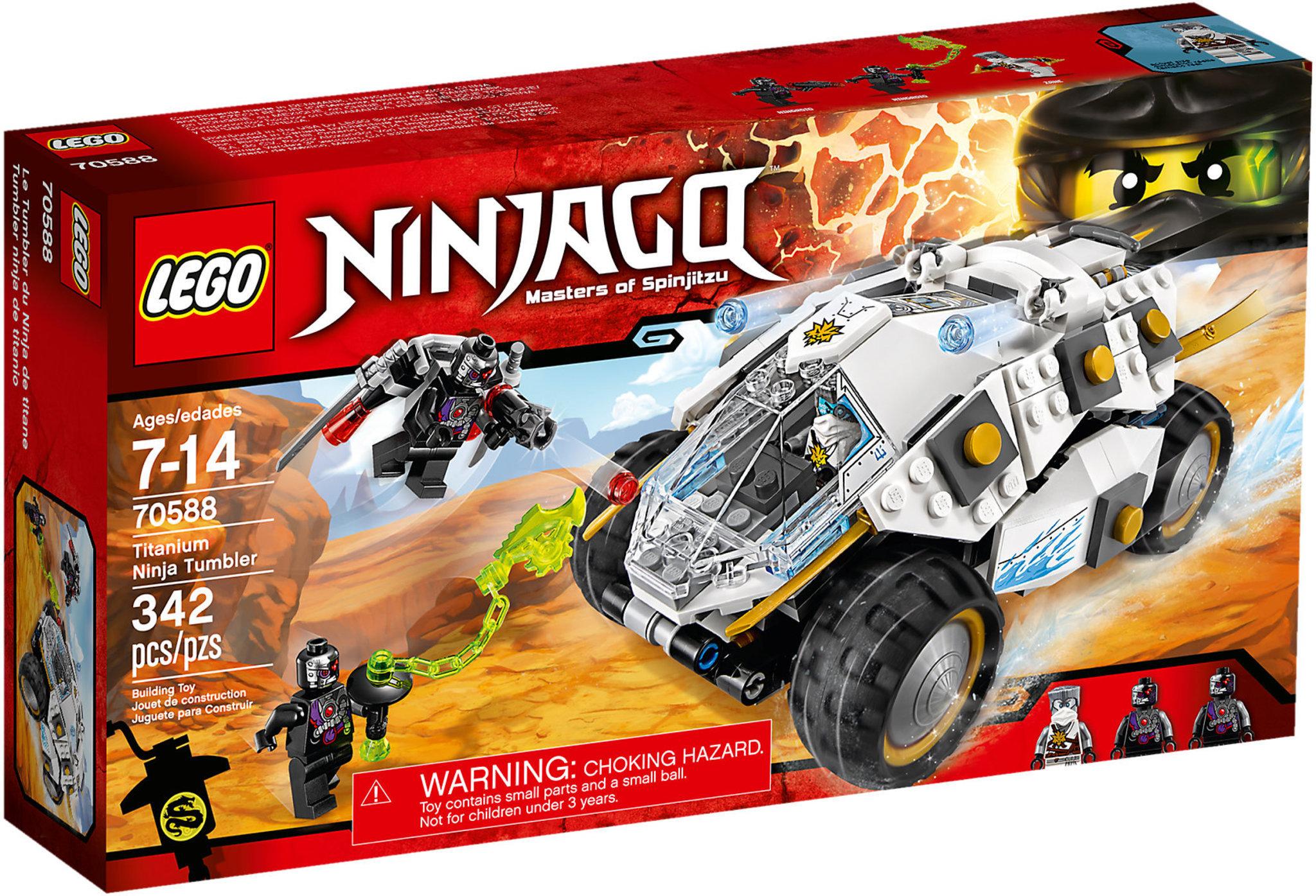 c0ef6033b82fa LEGO Ninjago 70588 - Titanium Ninja Tumbler   Mattonito