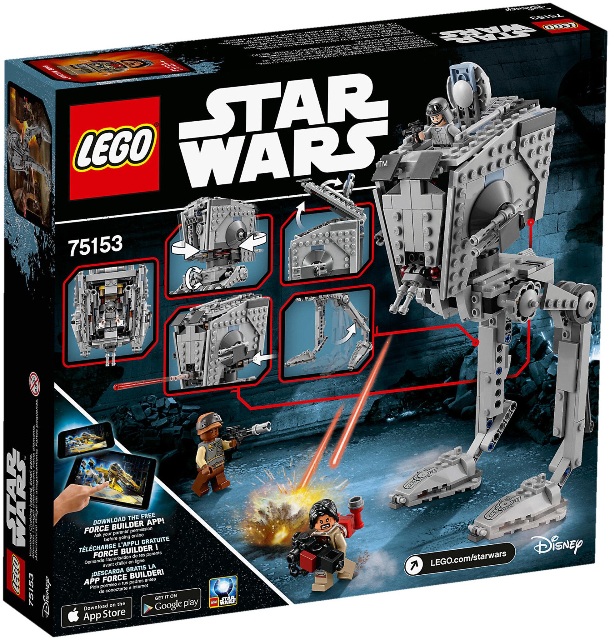 Lego Star Wars 75153 At St Walker Mattonito