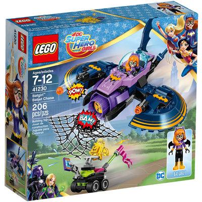 Batgirl Batjet Chase