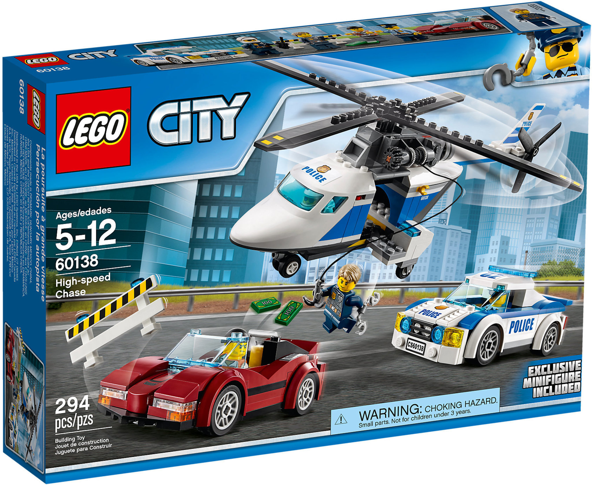 lego city polizia 60138