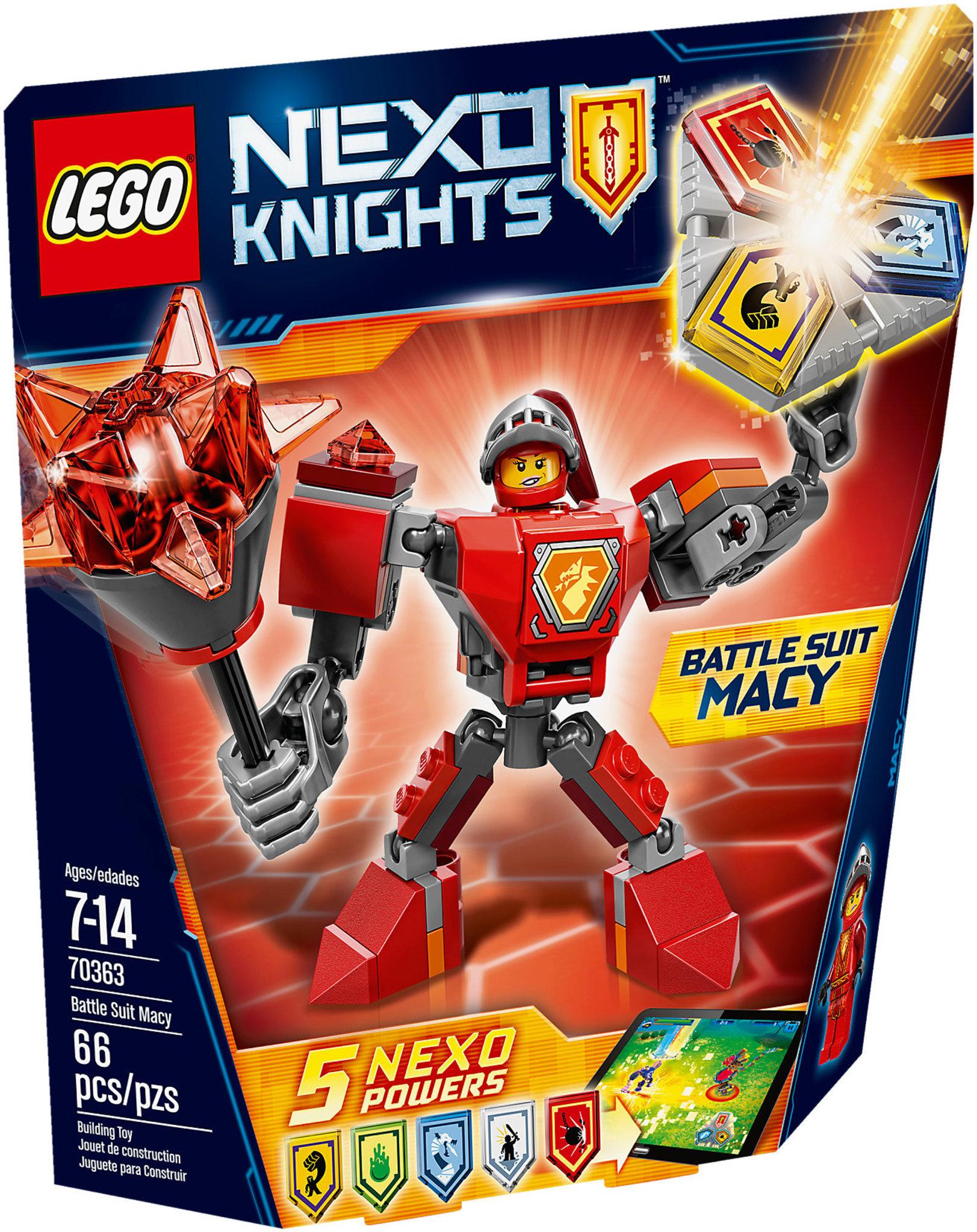 LEGO Nexo Knights 70363 - Battle Suit Macy | Mattonito