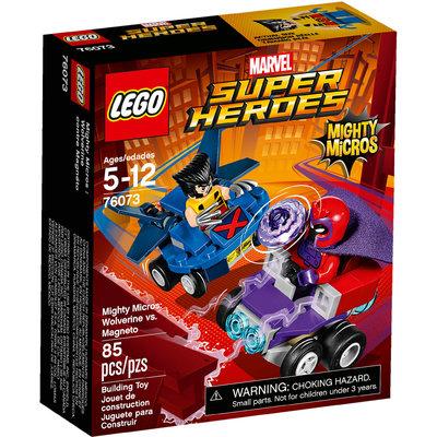 Mighty Micros: Wolverine Contro Magneto