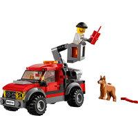 LEGO City 60141 - Stazione Di Polizia Pickup rosso