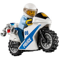 LEGO City 60141 - Stazione Di Polizia Moto