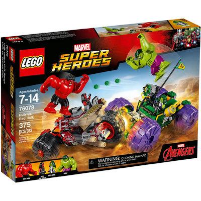 Hulk Contro Red Hulk