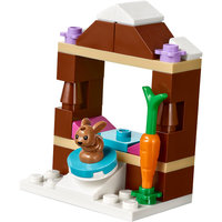 LEGO Friends 41322 - La Pista di Pattinaggio del Villaggio Invernale
