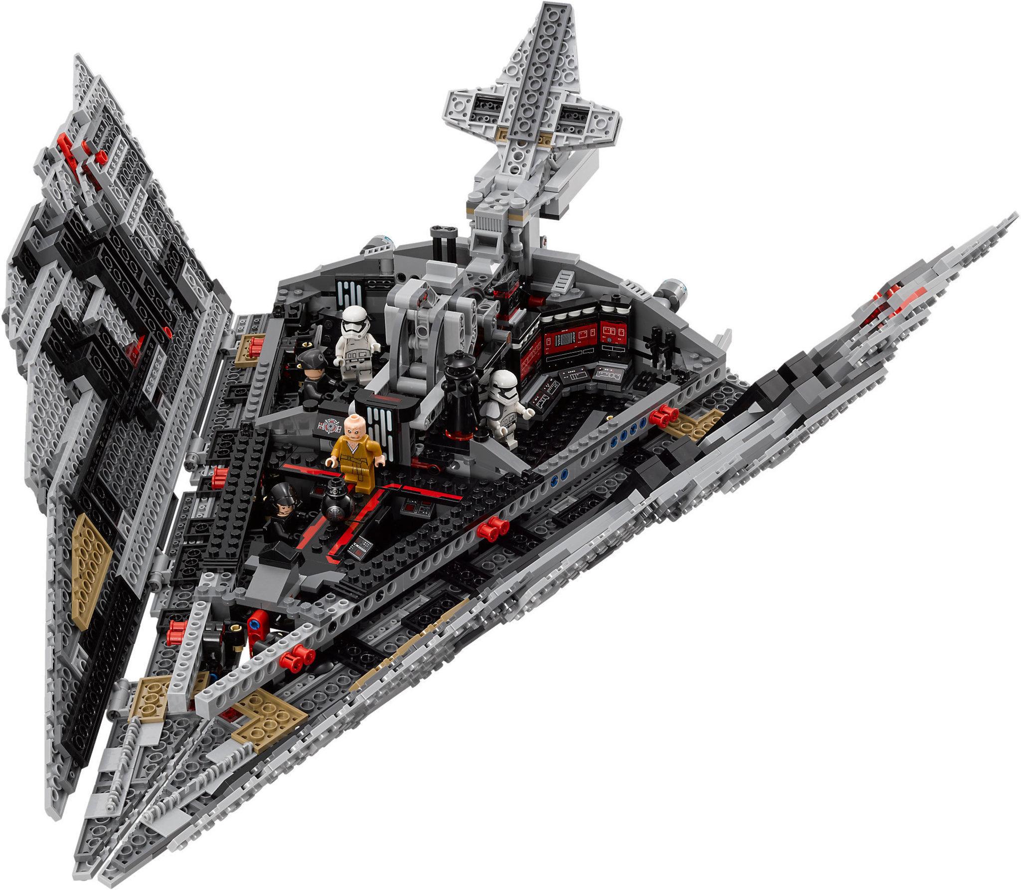 lego star wars 75190  first order star destroyer  mattonito